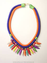 jewelry making cord necklace images Diy style how to make a woven cord necklace jpg
