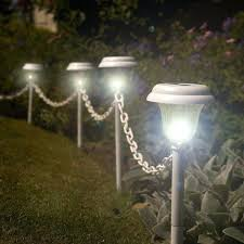 solar lights for chain link fence garden fence solar lights medium size of lights for gardens within