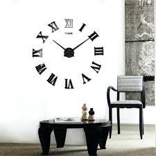 wall ideas modern living room wall clocks living room wall