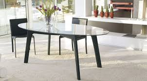 oval glass dining table oval glass top dining table with regard to great in architecture 16