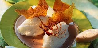 cuisine calisson glace au calisson et au caramel pas cher recette sur cuisine actuelle