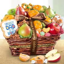 fathers day basket s day fruit and snacks gift basket aa4050f a gift inside