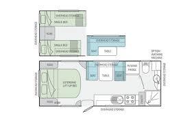 Caravan Floor Plan Layouts Jayco Starcraft Caravan