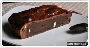 cuisine sans sucre recette sans sucre brownie aux noix de cajou cuisine