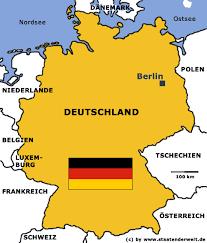 fl che deutschland staaten der welt staaten deutschland karte und flagge