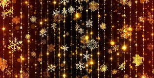 christmas lights that look like snow falling gold snowflakes falling by as 100 videohive