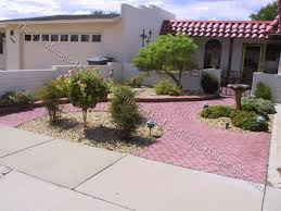 Paved Garden Design Ideas Small Paved Front Entry Garden