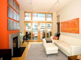 apartments lovable brown and orange living room ideas gray