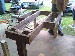 How To Build Wood Bench Bench Building A Shooting Bench Build A Shooting Bench Building