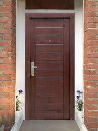 Exterior Door Wood The Best Front Doors To Install For Higher Security Safewise