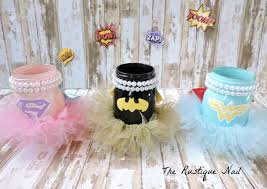 batman centerpieces this listing includes 3 pint size centerpieces 1 superman