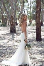 backless wedding dresses backless wedding dress ebay