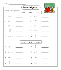 14 simple algebra worksheet templates u2013 free word u0026 pdf documents