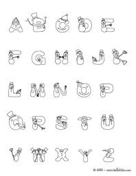 letters coloring pages printable christmas letters of alphabet coloring pages coloring pages