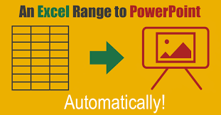 copy u0026 paste an excel range into powerpoint with vba u2014 the