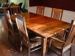 craftsman style dining table foter