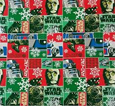 wars wrapping paper wars r2d2 cp3o wrapping paper gift wrap 40 wide