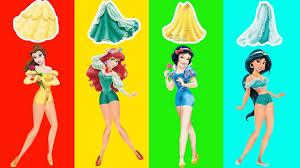 wrong dress disney princess belle ariel snow white jasmine finger