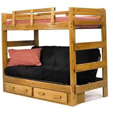 bunk beds wooden futon bunk beds full over full bunk bed futon