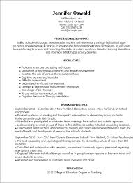 Sample Resume For Therapist by Professional Psychologist Templates To Showcase Your Talent