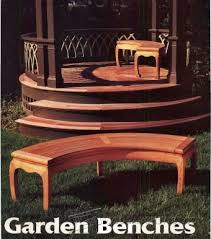 outdoor bench plans u2022 woodarchivist