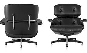 ebony eames lounge chair without ottoman hivemodern com