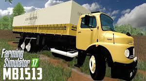 mercedes truck mercedes benz 1513 v1 0 truck farming simulator 2017 mod ls