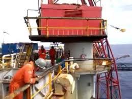 Pedestal Crane Offshore Pedestal Crane Boom Hoist Faliure Youtube