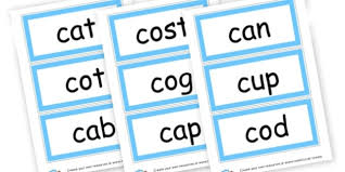 Words Cards C Sound Cvc Words Cards Cvc Words Flashcards And Visual Aids