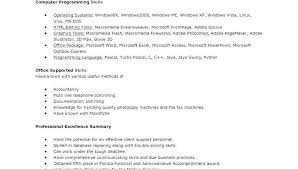 resume for exle how to describe excel skills on resume resume describe excel