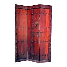 shop oriental furniture doors 3 panel multicolor fabric folding