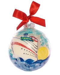 caribbee ornament cruise ship the magic
