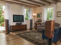 home theater in ceiling speakers amazon com sonus faber venere center speaker walnut home audio