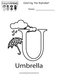 worksheet letter u worksheets montrealsocialmedia worksheet and