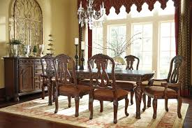 Ashley Furniture Dining Room North Shore Dining Table D553 35 Dark Brown By Ashley Furniture