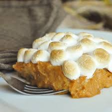 marshmallow and sweet potato casserole foods of our lives