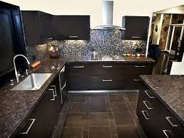 Black And Brown Kitchen Cabinets Kitchen Remodeling Modern Black Brown Kitchen Cabinets Black