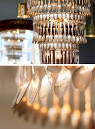 Recycled Light Fixtures Cake Vintage Recycled Lamps And Spoondeliers Lighting