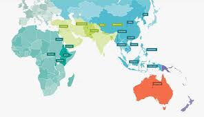 Countries Visited Map Good Morning 6 Topaz On Emaze