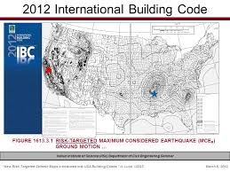International Building Code New U201crisk Targeted U201d Seismic Maps Introduced Into Usa Building