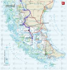 Map Chile The Route And Maps A Guide To Cycling The Carretera Austral