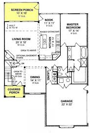 House Plans With Screened Porch 168 Best House And Home Floor Plans Images On Pinterest House