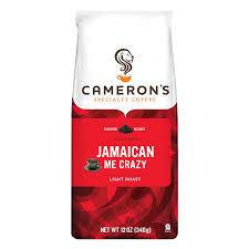 cameron u0027s specialty coffee jamaican me crazy ground 12 oz