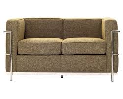 sofa in wool sofa in oatmeal by modway w options
