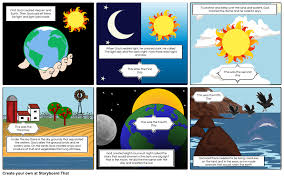 what day did god create light story of creation pt 1 storyboard by shannenfaye