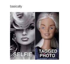 Funny Barbie Memes - selfie vs tagged pic funny pictures quotes memes funny images