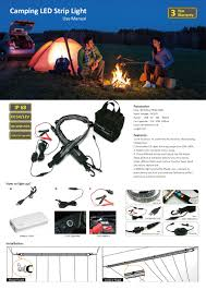 Camping Led Strip Lights by Kinguion 2017 Latest Camping Led Strip Light With Dimmable Cable