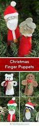 craft cottage christmas finger puppets