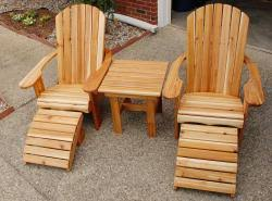 Used Adirondack Chairs Canuck Cedar Chairs Our Pledge To You If For Any Reason Your