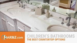 Best Countertop For Bathroom Best Materials For Children U0027s Bathrooms Youtube
